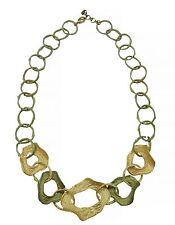 "Curly Pod 16"" Adj. Link Necklace by Michael Michaud #8971BZ"