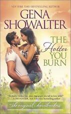 The Hotter You Burn by Gena Showalter (Original Heartbreakers #3)(2015 PB)DD2531
