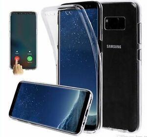 Front and Back Clear Full Protection TPU Gel Skin Case For Samsung Galaxy A2  CO