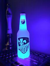MLS Montreal Impact Soccer 12 oz Beer Bottle Light LED Bar Man Cave