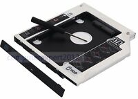 2nd Hard Drive SSD HDD Caddy Adapter for Dell Vostro 2521 3300 3350 3578 GU90N