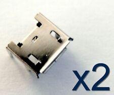 2x connecteur à souder micro USB type B femelle / 2x Female connector for solder