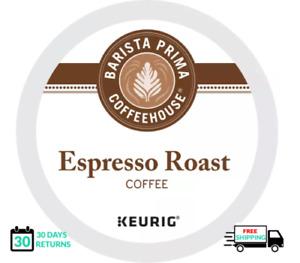 Barista Espresso Roast Keurig Coffee 24 K-cups