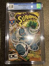 Superman The Man of Steel #18 SUPER RARE Fifth Printing Variant CGC 9.8 DC Logo