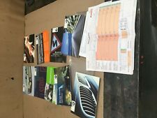 Bmw e46 325ti owners manual booklet leather wallet 1999-2006