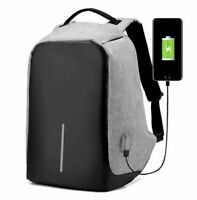 Anti-theft Water Resistant Multifunctional Laptop Travel Backpack+USB Charging