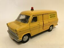 Dinky Toys 416 Ford Transit Van Motorway Services Yellow Vintage Made in England