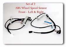 2 ABS Wheel Speed Sensor Front R/L  For Suzuki G Vitara 2001&2005 XL7 2002-2006