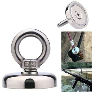 Strong Powerful Round Magnet Hook Rescue Magnet Fishing Hold Home improvement