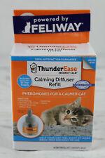 Thunder Ease Calming Diffuser Refill single cat household exp 02/22 Unused New