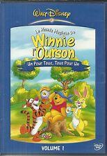 DVD - WALT DISNEY : WINNIE L' OURSON : UN POUR TOUS, TOUS POUR UN