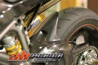 Ducati 848 1098 1198 Rear Hugger Fender Mudguard Cover Carbon Fiber 100%