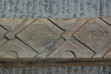 ATTRACTIVE RECLAIMED CARVED OAK BEAM - 2 AVAILABLE ref 939