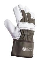 Narbenleder Handschuhe - Leder, Vollleder Arbeitshandschuhe Größe 10