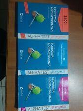 Alpha test Economia e giurisprudenza Teoritest + Esercitest + 3800 Quiz
