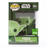 Funko POP! Star Wars - Green Yoda ECCC 2021 Exclusive With Soft Protector
