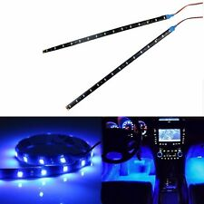"2pc 12""  30CM Blue  LED Boat Light Waterproof 12v Bow Trailer Navigation"