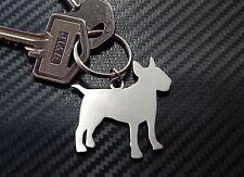 ENGLISH BULL TERRIOR Dog Breed Keyring Keychain Key Stainless Steel
