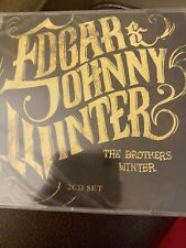 Edgar & Johnny Winter The Brothers Winter 2CD New Sealed