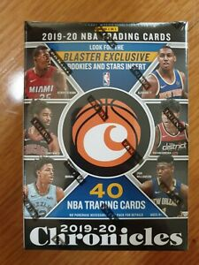 2019-20 NBA Panini Chronicles sealed blaster box 8 packs look for Zion RC