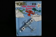 Larami Die Cast Metal The Aerial Aces Gray Forker Vintage Airplane Plane New