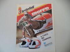 advertising Pubblicità 1991 CASCO HELMET BIEFFE CHESTERFIELD SCOUT