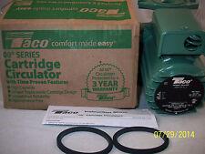 Taco 009-HBF5-J  Pump Bronze 115V  For Outdoor Wood Boiler Circulates Water