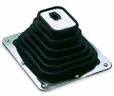 "Hurst Style Universal Super Rubber Shifter Boot & Chrome Plate 7 3/4"" X 8 3/4"""