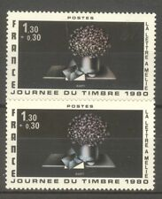 "FRANCE STAMP TIMBRE N° 2078 "" AVATI, JOURNEE 1980, 2 COULEURS "" NEUFS xx TTB"
