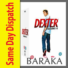 DEXTER COMPLETE SEASONS SERIES 1, 2, 3, 4 & 5 DVD BOX SET COLLECTION 21 DISC R4