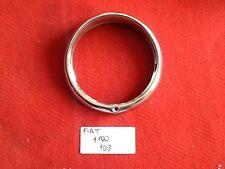 FIAT 1100 103 TV CERCHIO FARO HEADLIGHT RING TRIM