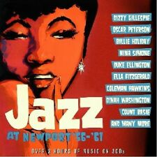 JAZZ AT NEWPORT '56 - '61 - 3 CD BOX SET