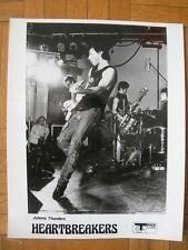 TIRAGE PHOTO ARGENTIQUE PROMO : JOHNNY THUNDERS & HEARTBREAKERS – US PUNK 1977