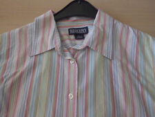 farbenfrohe Bluse von LAND'S END in Gr. 14 = Gr. 40/42, 100% Baumwolle