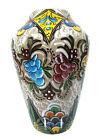 Jugendstil Majolika Vase Art Nouveau signed Maiolica Molaroni Pesaro ca 1920