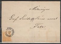 X2394/ HUNGARY – MI # 1a ON LETTER