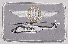 Écusson patch namemsschild nh90 militaire Aéronef dirigeants pilote... a3528