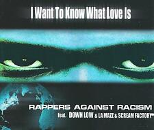 RAPPERS AGAINST RACISM Feat. Trooper - I want to know what love is