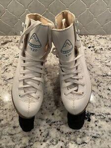 Jackson Glacier 120 Figure Ice Skates Youth/Girls Size 1 White