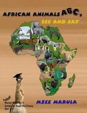 Professor Meerkat: African Animals Abc's See and Say by Richard Howell (2016,.