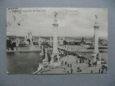 BELGIUM, PPC (card World Expo Liege 1905) to the Netherlands 1905