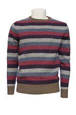 Maglia da uomo a righe North Sails girocollo lana manica lunga casual moda