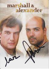 Marshall & Alexander    Musik  Autogrammkarte original signiert 367402