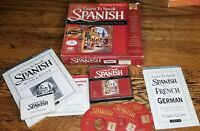 The Learning Company Learn to Speak Spanish 7.0 w/ 3 CDs, Workbook  & User Guide
