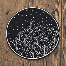 Space Patch Embroidery Iron On Fabric Applique Handcraft Made DIY Badge Decor