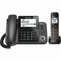 Panasonic KX-TGF380M Link2Cell Bluetooth Corded/Cordless Phone System 1 Handset