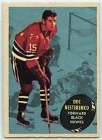 1961-62 Topps Hockey #28 Eric Nesterenko VG-EX Condition (2020-13)