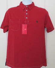 Southern Proper Men's Polo Golf Shirt Red Pocket Size Small NWT