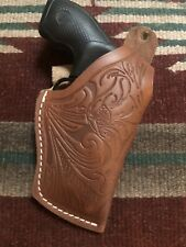 """Leather Thumb Break Holster Floral Fits Smith & Wesson 36 2"""" Barrel 38 Special"""