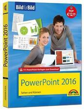 PowerPoint 2016 Bild für Bild: sehen und können von Hermann Plasa (2016,...